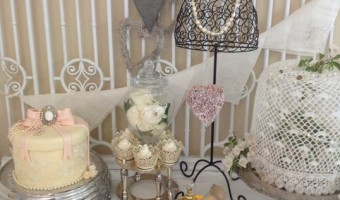 A vintage bridal shower