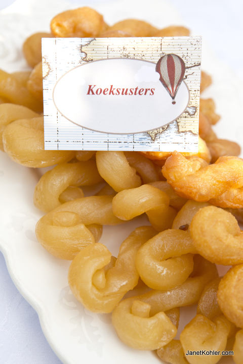 Koeksusters- a South African sweet treat