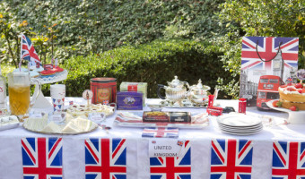 The United Kingdom: around the world party stop