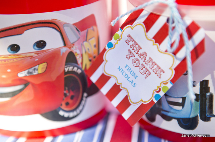 Cars themed party packs